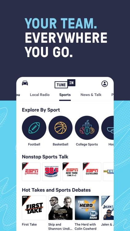 TuneInRadio: Music & Sports screenshot-6
