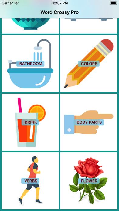 Word Crossy - A Crossword Idea screenshot two