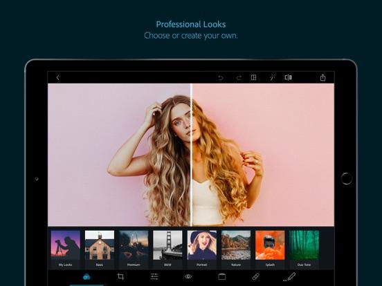 Adobe Photoshop Express Screenshots