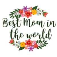 Best Mom In The World Sticker