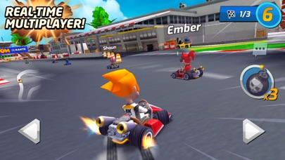Boom Karts -Multiplayer Racing screenshot 1