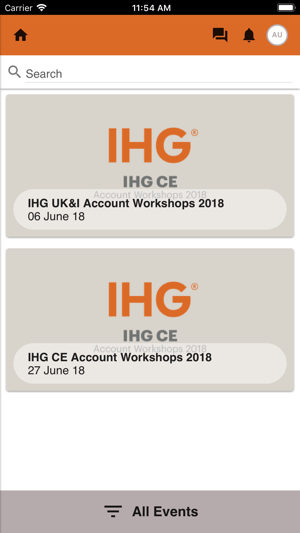 IHG Events Portal on the App Store