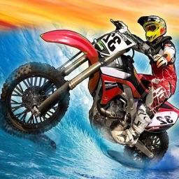 Surfing Dirt Bike Racing
