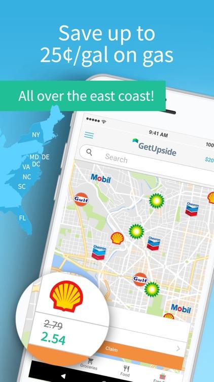 GetUpside Gas & Food Deals screenshot-0