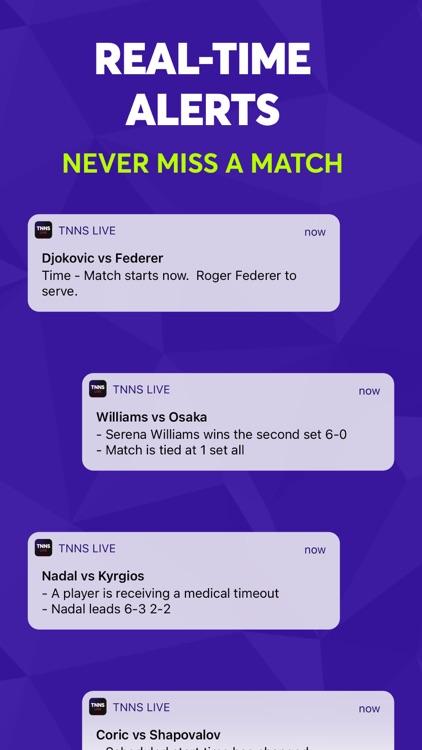 TNNS: Tennis Live Scores screenshot-4