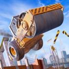 Construction Ramp Jumping
