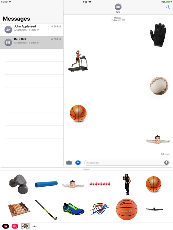 Sport Stickes! screenshot 4