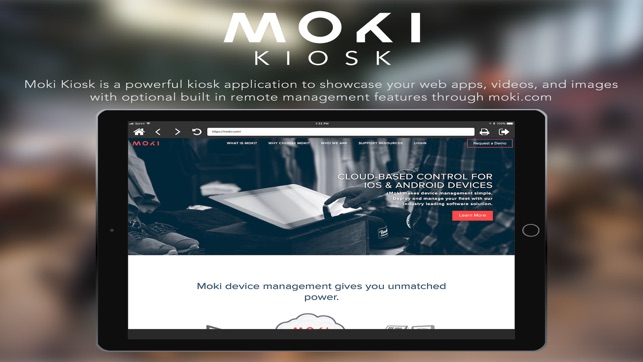 Moki Kiosk on the App Store