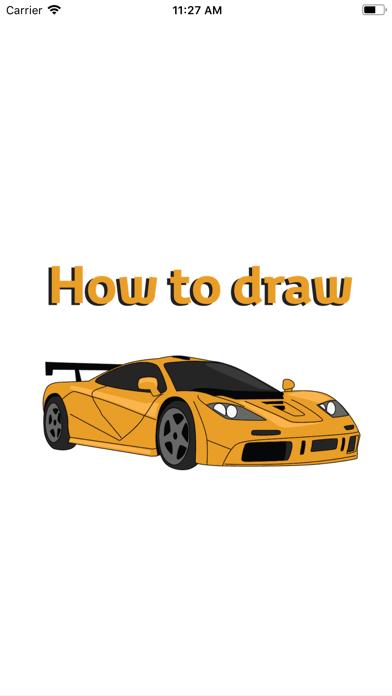 Draw Sport and Retro Cars screenshot 1