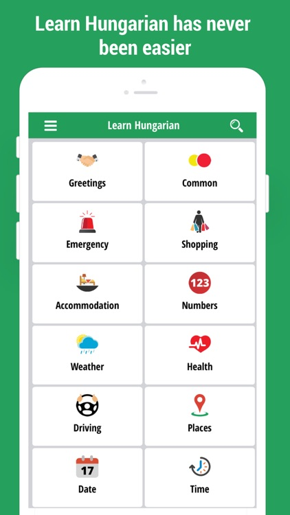 Learn hungarian language app by content arcade uk ltd learn hungarian language app m4hsunfo