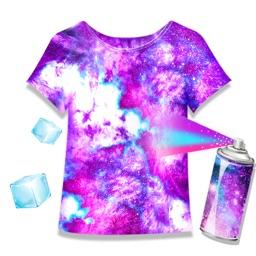 Ice Tie Dye - Fashion Art