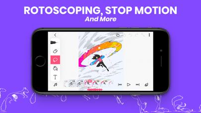 FlipaClip: Animations-StudioScreenshot von 8