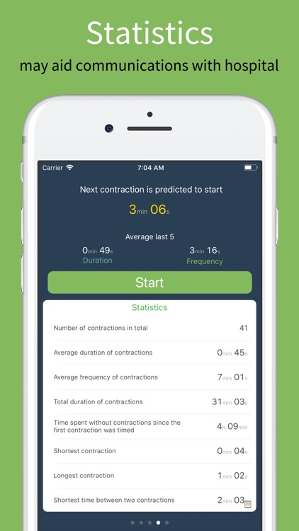 Birth Contraction Timer screenshot-4