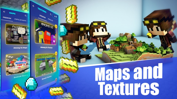 Mods and Maps for Minecraft PE