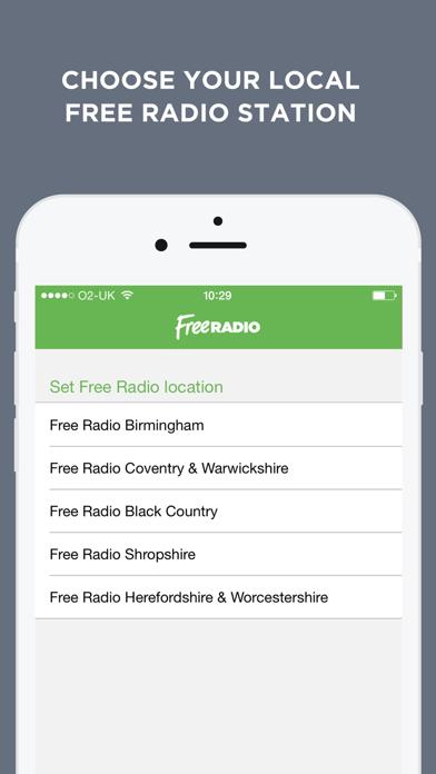 Free Radio – West Midlands screenshot one