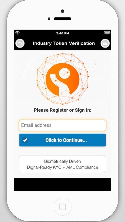 Industry Token ID Verification