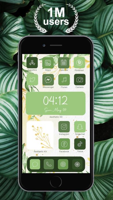 Aesthetic Kit – Icono y temasCaptura de pantalla de10
