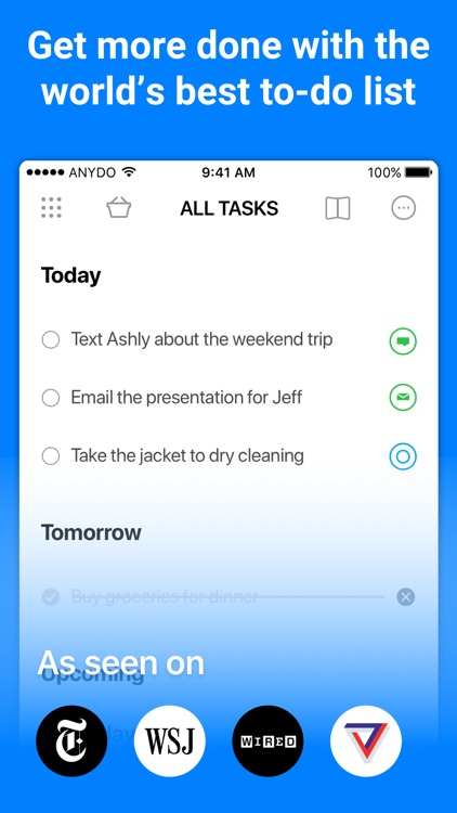 Any.do: To-do list & Calendar