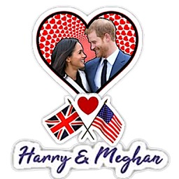 When Harry Met Meghan Sticker