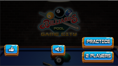 Pool Billiard game City 3D screenshot one