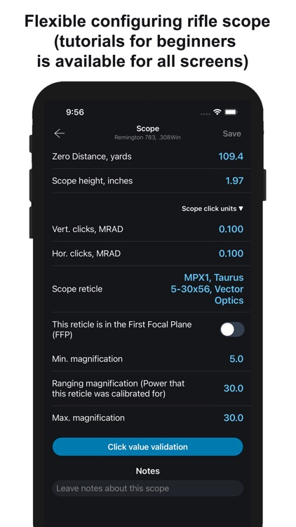 Chairgun Elite Ballistic Tool+ screenshot-8