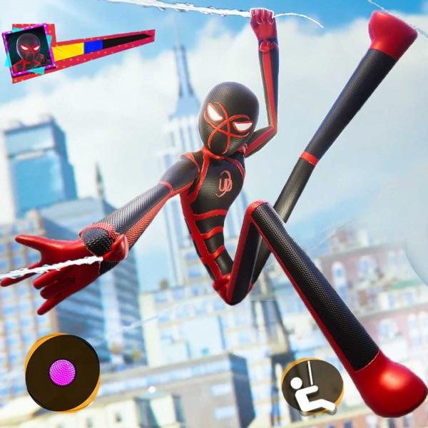 Stick Spider Crime City Rescue