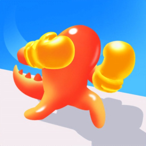 Dino Runner 3D: Blob Clash free software for iPhone and iPad