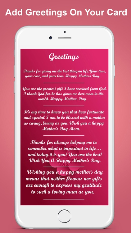 Mother day greeting card maker by muhammad amin mother day greeting card maker screenshot 4 m4hsunfo
