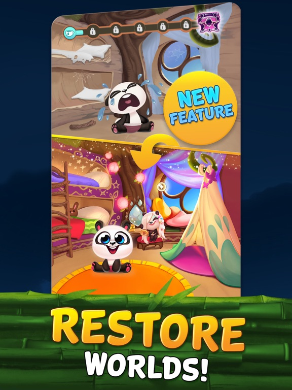 Bubble Shooter - Panda Pop! iPad app afbeelding 3