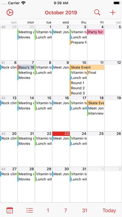 Calalarm - Calendar screenshot-3