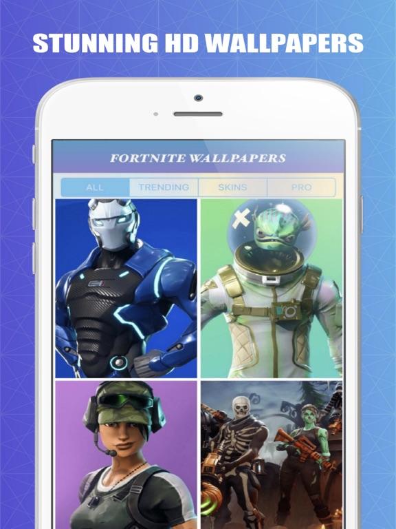 Screenshots of Fortnite Wallpapers for iPad