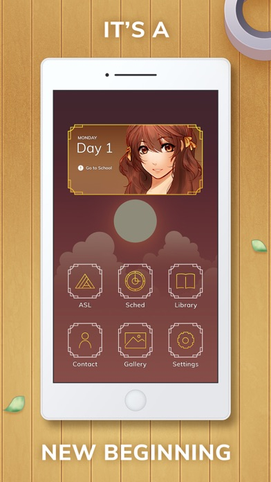 Golden Hour Otome Romance screenshot one