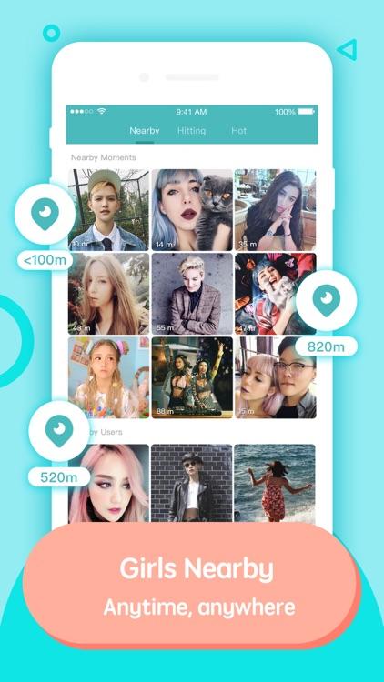 Lesbian social network app