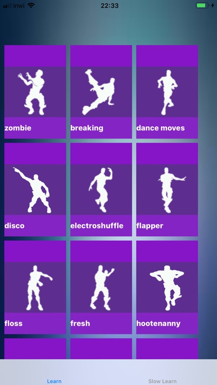 Dancs For Fortnite Slow