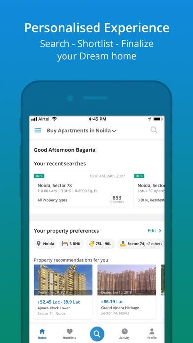 Screenshot #1 pour 99acres - Property Search