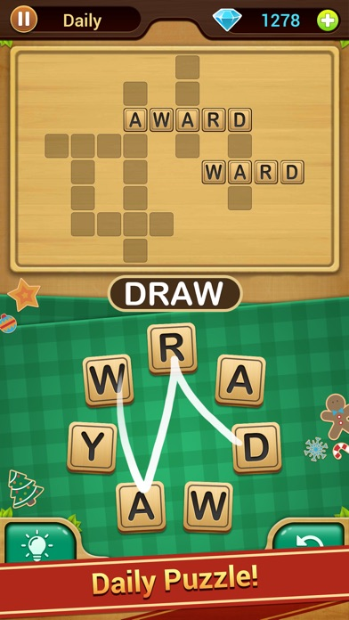 Screenshot of Word Link - Word Puzzle Game App