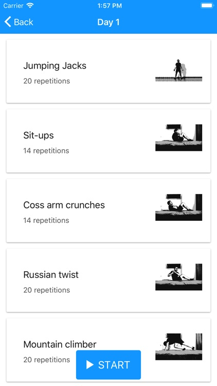 ABS Workout - 6 pack 30 days screenshot-4
