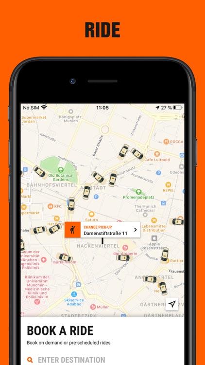 SIXT rent, share, ride & plus screenshot-3