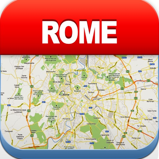 Rome Offline Map, Metro Air