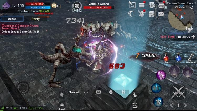 Lineage2 Revolution screenshot-6