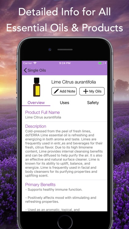Essential Oils for doTERRA screenshot-1