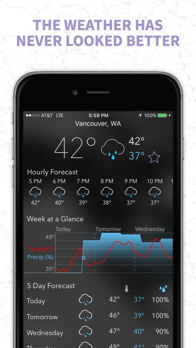 Myradar Weather Radar Pro review screenshots