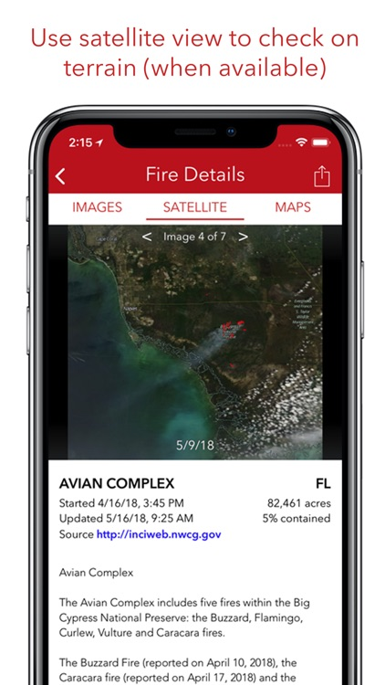 Fire Finder - Wildfire Info screenshot-3