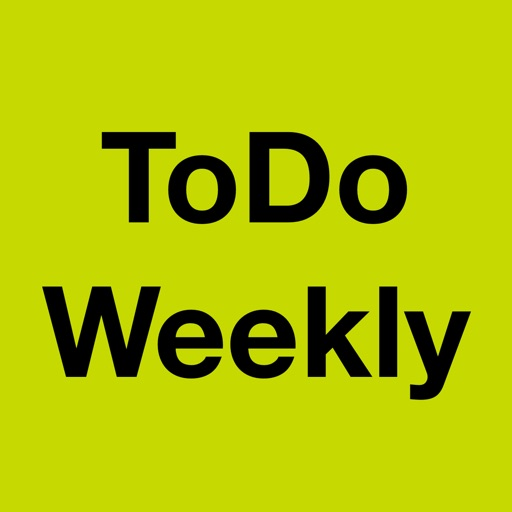 ToDo Weekly