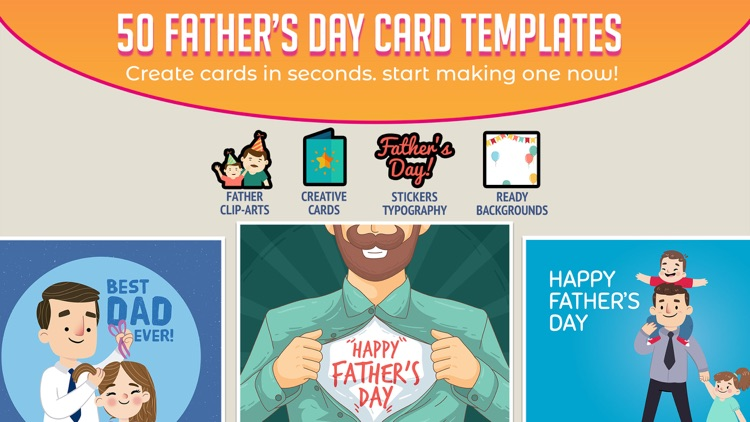 DIY Father's Day Card Creator screenshot-3