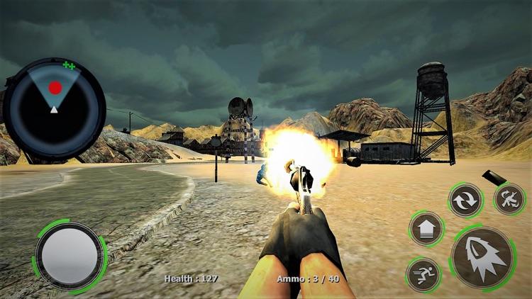 WW2 US Army Commando Sniper screenshot-6