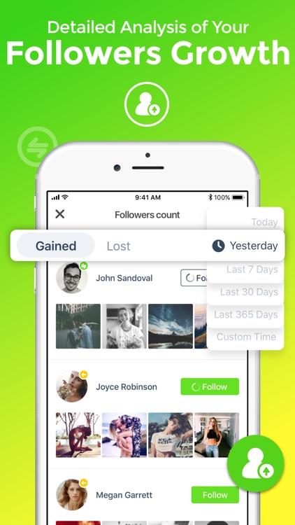 Ig Analyzer: Follower Analysis screenshot-3