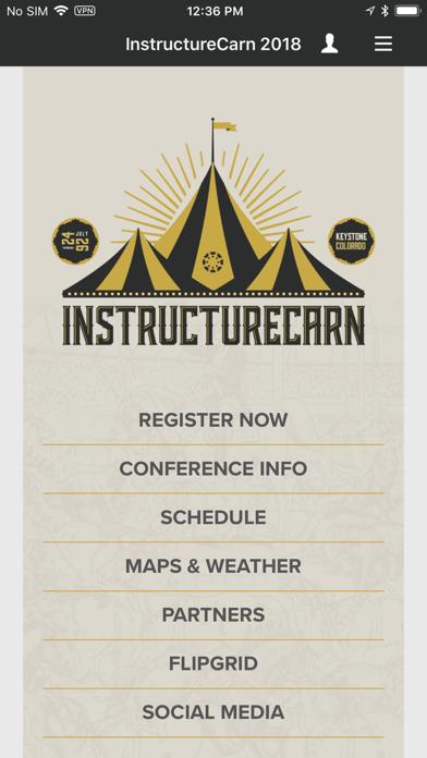 InstructureCarn 2018 screenshot 1