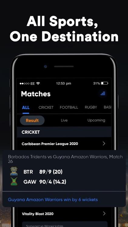 SportsTiger Cricket Live Score