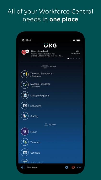 UKG Workforce Central screenshot-0